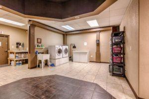 Maids laundry area
