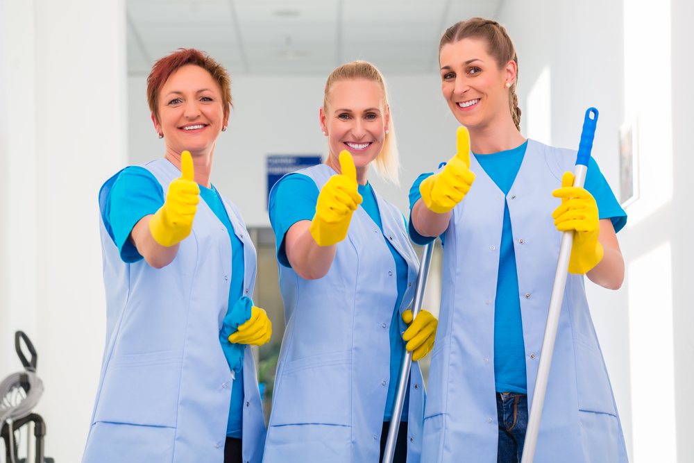 Maids of Honor has a clean team who will leave your home sparkling